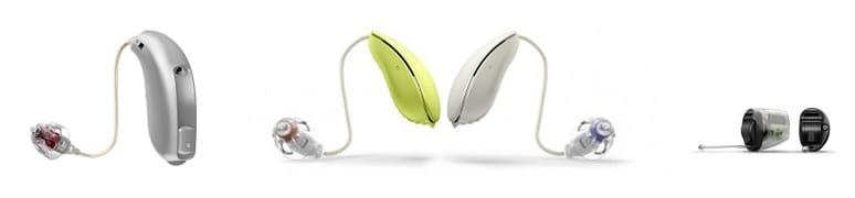 Moderne Hörgeräte